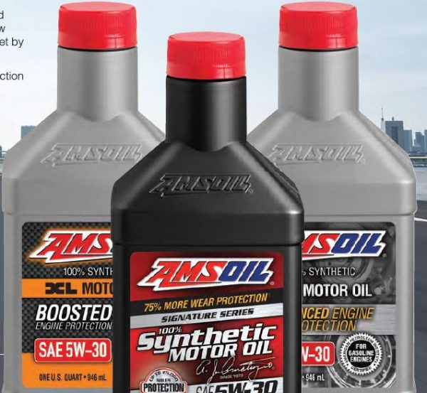 main amsoil synthetic line