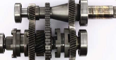 Gears appear like new although temperatures would break down other brands of gear lubricants.