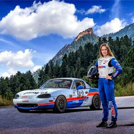 See Why Loni Unser is into Going Fast