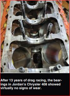 bearings after 4000 drag races